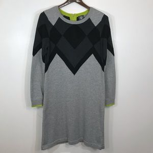 Vince Camuto long sleeves sweater dress